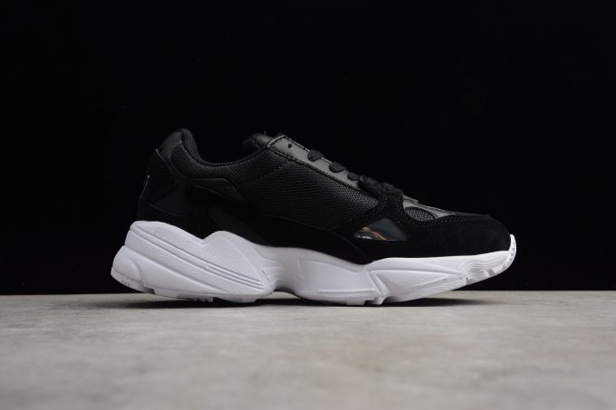 Cheap Womens adidas Falcon W Black White 1 680x453