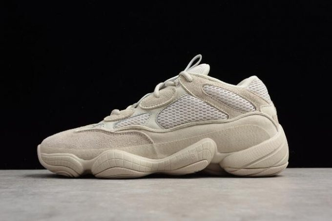 Mens and Womens adidas Yeezy Desert Rat 500 Blush 680x454