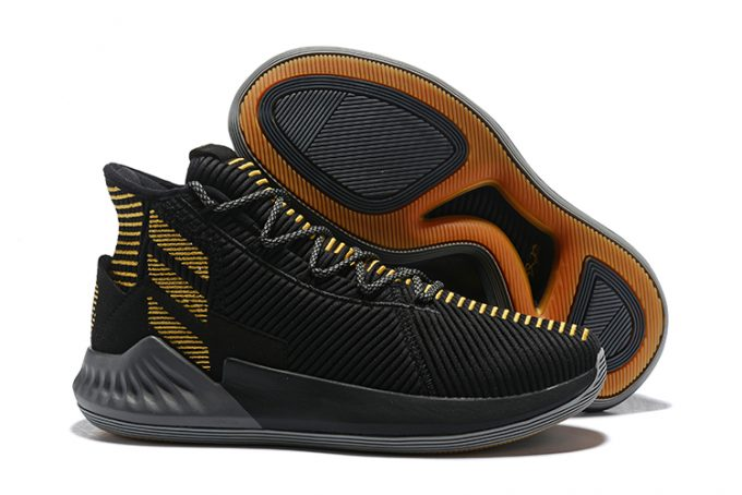 New adidas D Rose 9 Black Gold For Sale 680x454