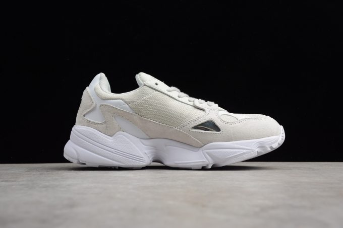 New adidas Falcon WMNS Light Grey White 1 680x453