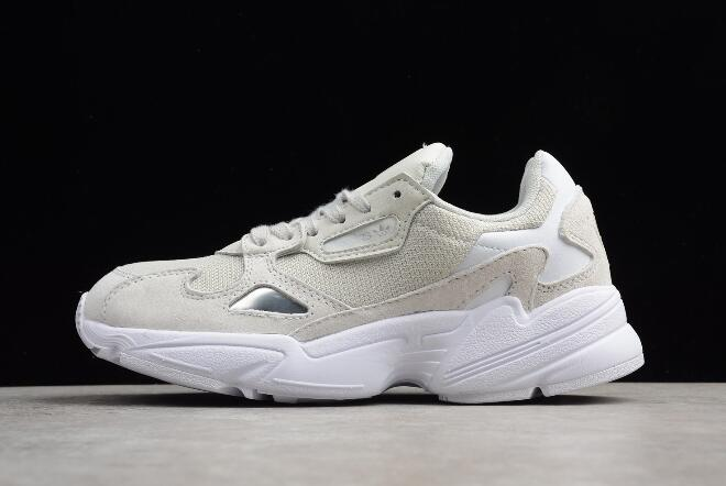 New adidas Falcon WMNS Light Grey White