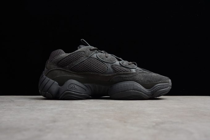 New adidas Yeezy 500 Utility Black Mens and Womens Size 1 680x453