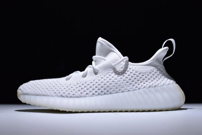 New adidas Yeezy Boost 350 V2 Clima White Shoes 680x455