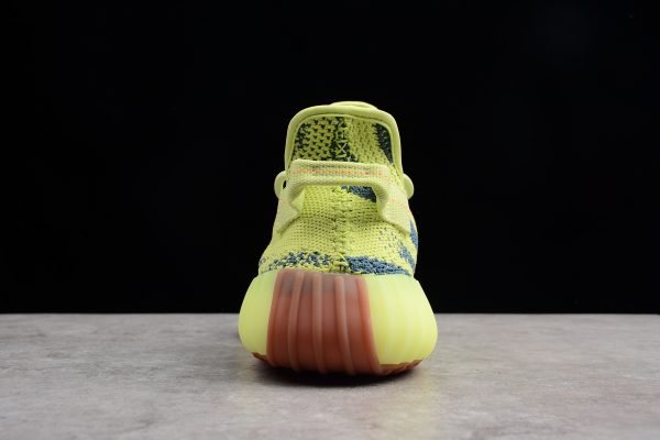 New adidas Yeezy Boost 350 V2 Semi Frozen Yellow Raw Steel Red 4 600x400
