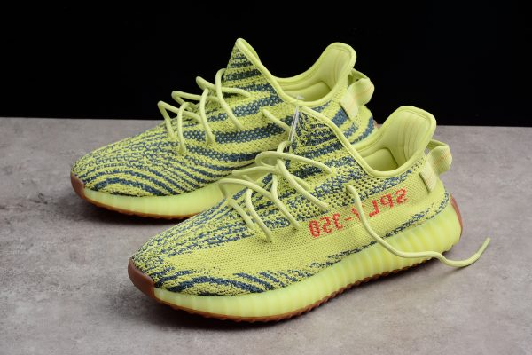 New adidas Yeezy Boost 350 V2 Semi Frozen Yellow Raw Steel Red 6 600x400