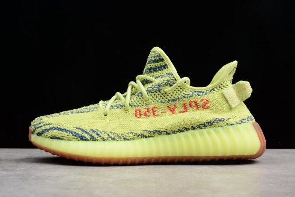 New adidas Yeezy Boost 350 V2 Semi Frozen Yellow Raw Steel Red 600x401