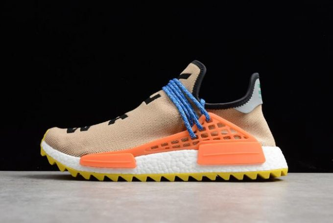 Pharrell Williams x adidas NMD Hu Trail Pale Nude Core Black Yellow 680x455