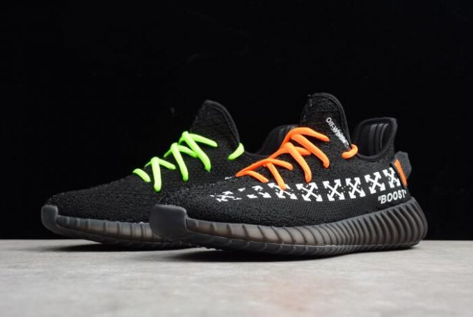 Virgil Abloh OFF White x adidas Yeezy Boost 350 V2 In Black Mens and Womens Size 680x455
