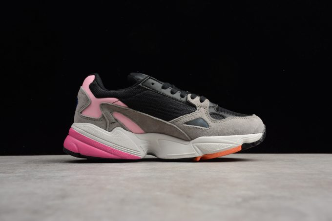 Womens adidas Falcon W Core Black Light Granite 1 680x453