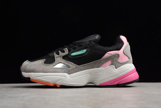 Womens adidas Falcon W Core Black Light Granite