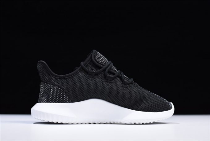Mens and WMNS adidas Tubular Shadow Knit Black White Shoes 1 680x455