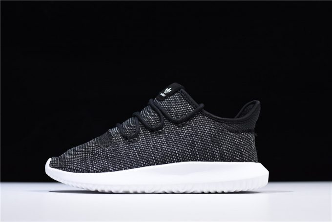 Mens and WMNS adidas Tubular Shadow Knit Black White Shoes 680x455