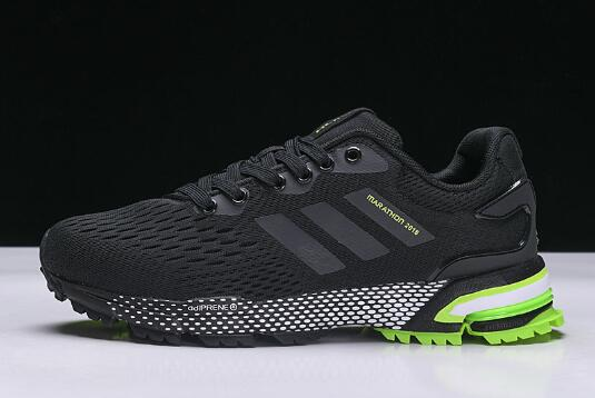New adidas Aerobounce ST Black Green Mens Size Shoes