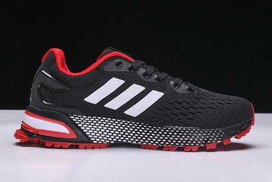 New adidas Aerobounce ST Black Red Mens Size Shoes 1