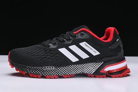 New adidas Aerobounce ST Black Red Mens Size Shoes