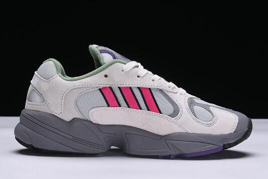 New adidas Originals Yung 1 Grey Red 1