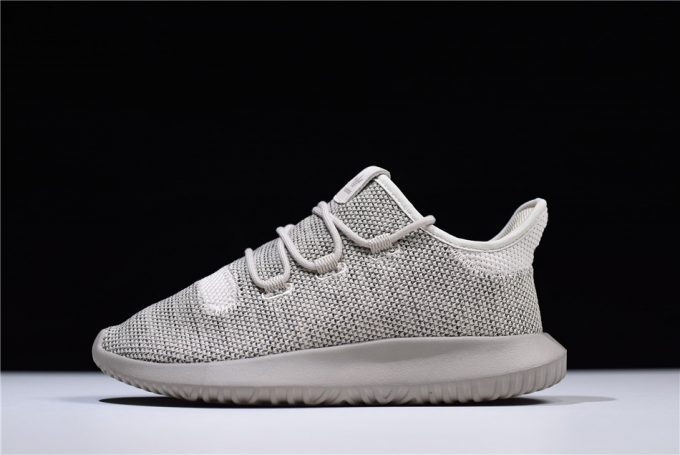 New adidas Tubular Shadow Knit Grey Shoes 680x455