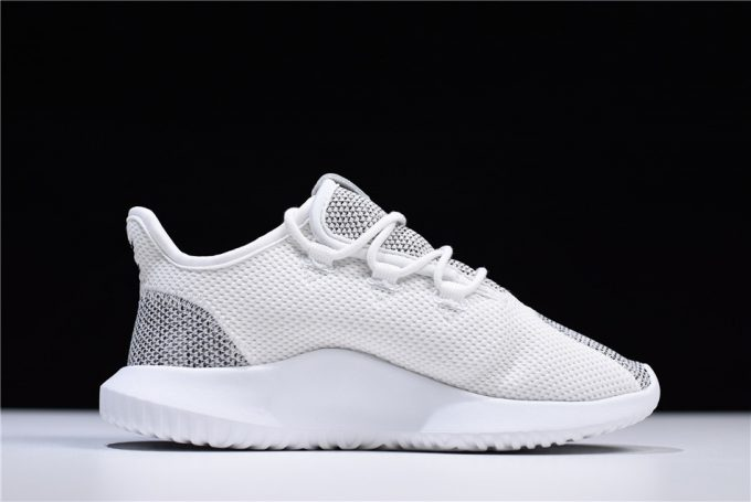 New adidas Tubular Shadow Knit Grey White Shoes 1 680x455