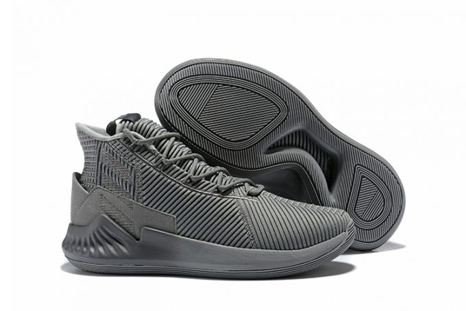 adidas D Rose 9 Cool Grey Basketball Shoes 680x454