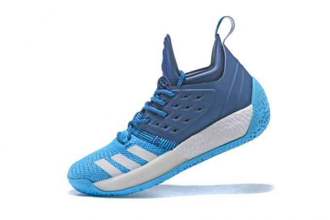 adidas Harden Vol 2 Sports Blue White Mens Shoes 680x454