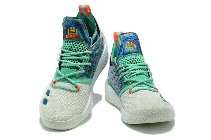 adidas Harden Vol 2 Vision All Star White Green Multi Color 1 680x454