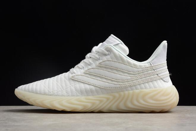 adidas Sobakov Triple White Mens and Womens Size