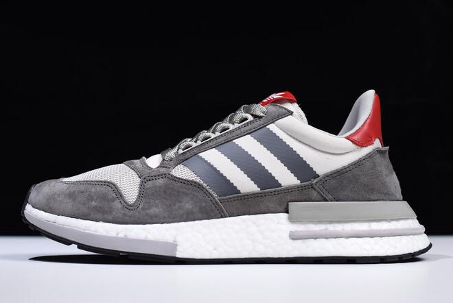 adidas ZX500 RM Boost OG Grey Four White Scarlet