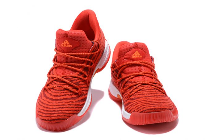 Mens adidas Crazy Explosive Low All Star PE Red Gold 1 680x454