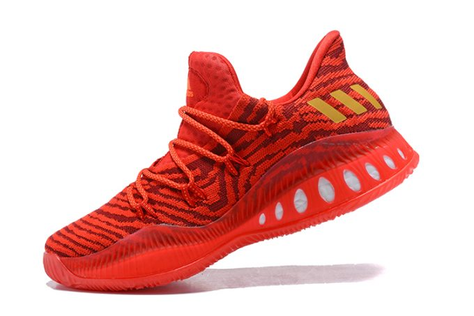 Mens adidas Crazy Explosive Low All Star PE Red Gold 680x453