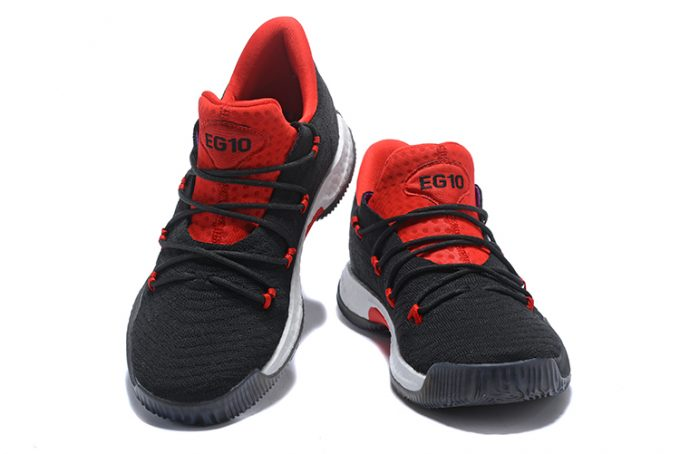 Mens adidas Crazy Explosive Low Black Red Basketball Shoes 1 680x454