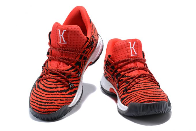 Mens adidas Crazy Explosive Low Tiger Red Red Core Black 1 680x454