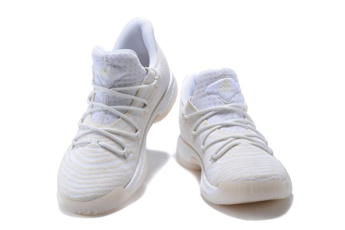 New adidas Crazy Explosive Low Triple White Basketball Shoes 1 680x454