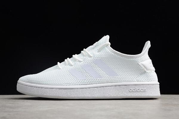 New adidas Stan Smith Triple White Shoes