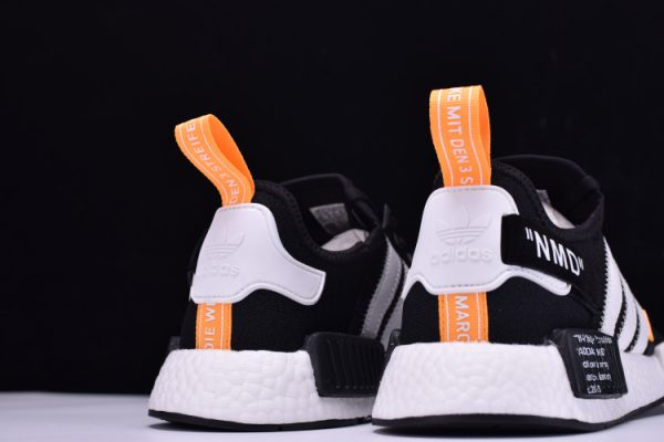 nmd adidas black and orange
