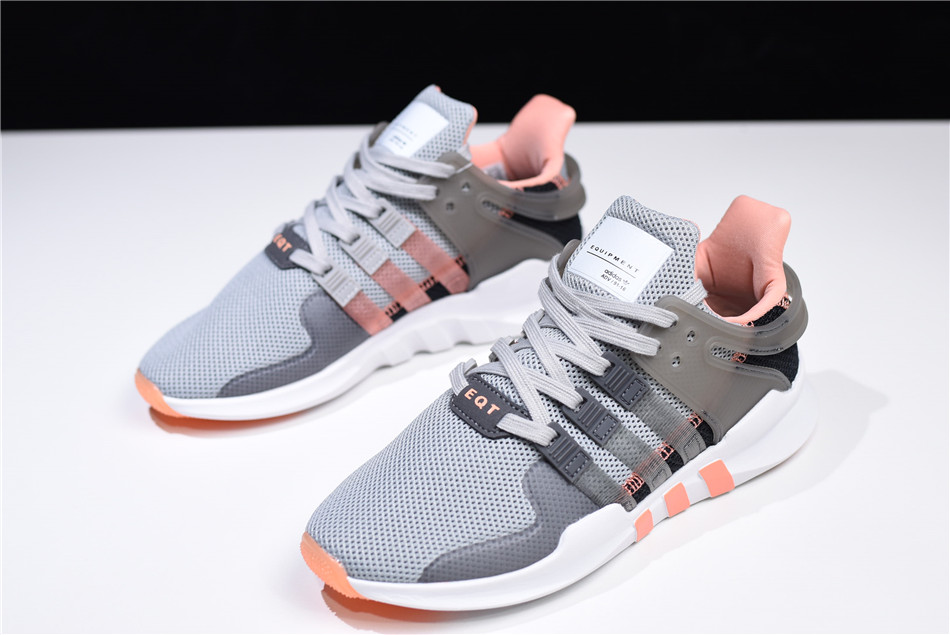 Women's adidas EQT Support ADV Grey Two/Grey Five-Chalk Coral CQ2254