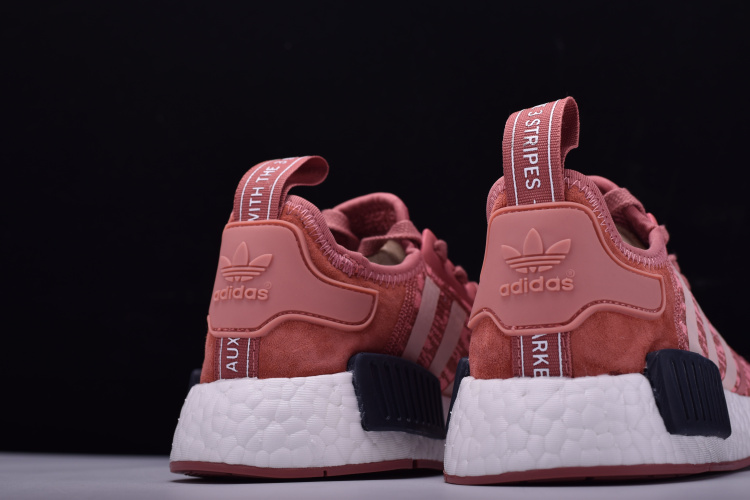 Women S Adidas Nmd R1 Primeknit Pink Black Raw Pink Trace Pink