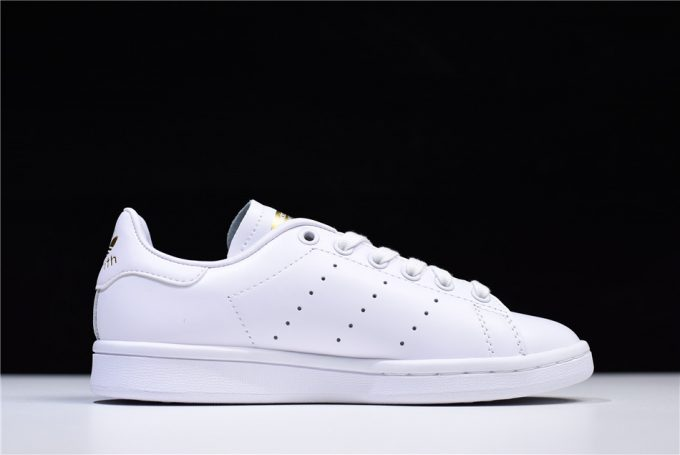 Womens adidas Originals Stan Smith White Green Golden 1 680x455