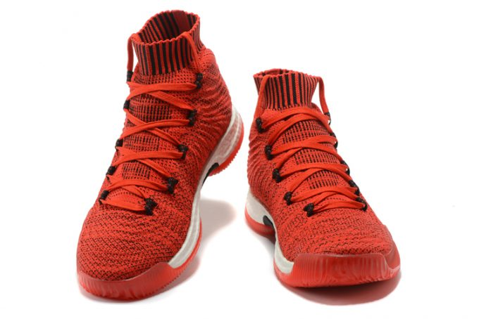 adidas Crazy Explosive 2017 Primeknit Chinese Red Black Basketball Shoes 1 680x454