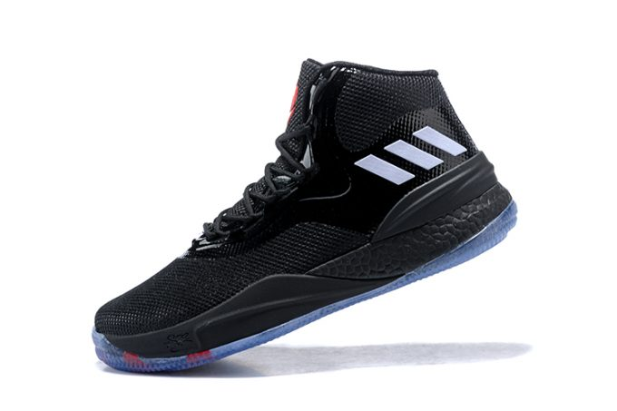 adidas D Rose 8 Year of the Dog Black Red Silver 680x453