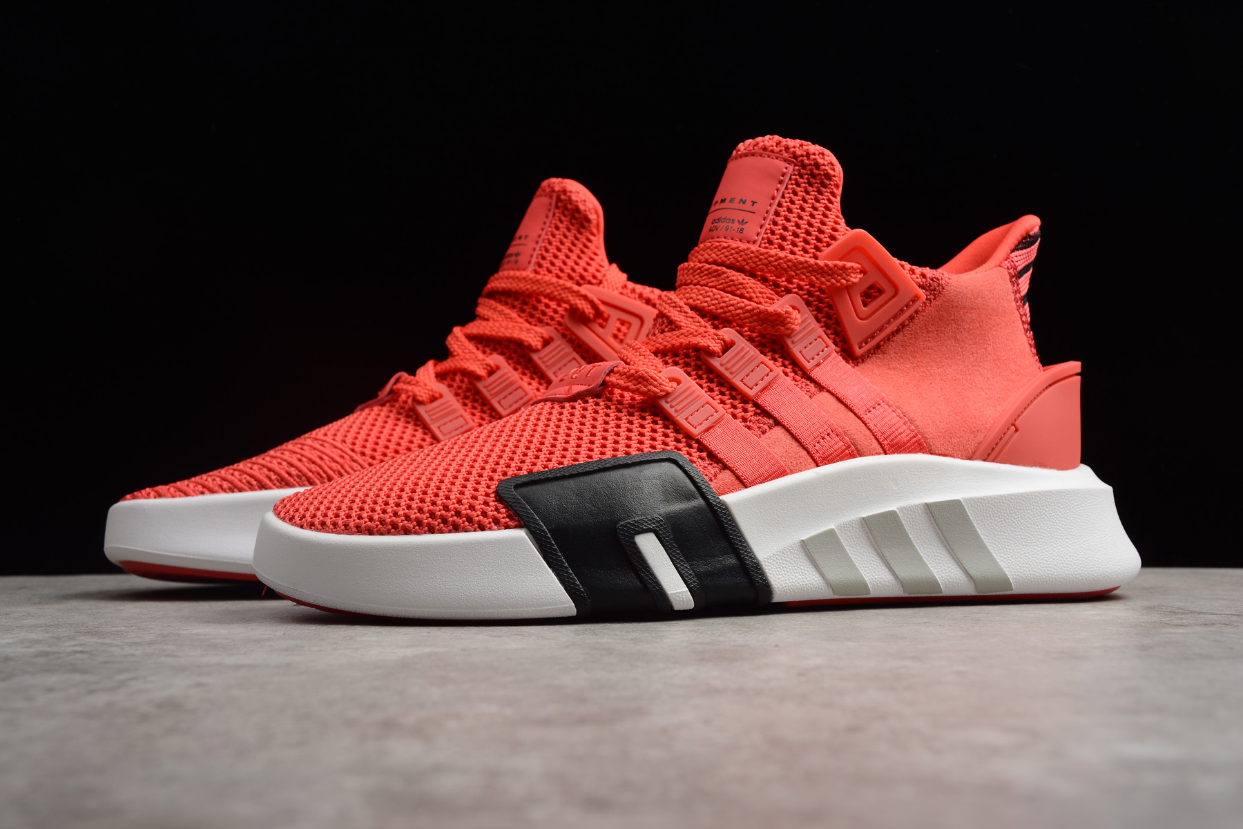 adidas EQT Bask ADV Real Coral/White-Black B22642 For Sale