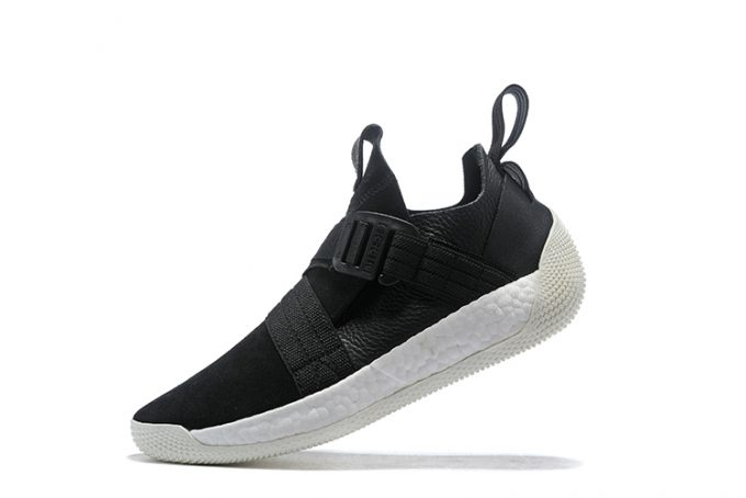 adidas Harden LS 2 Buckle Black White Shoes 680x454