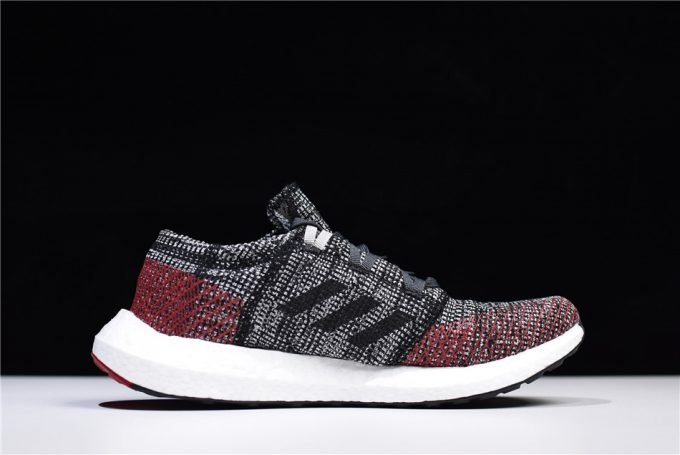 adidas Pure Boost GO Carbon Black Red White 1 680x455
