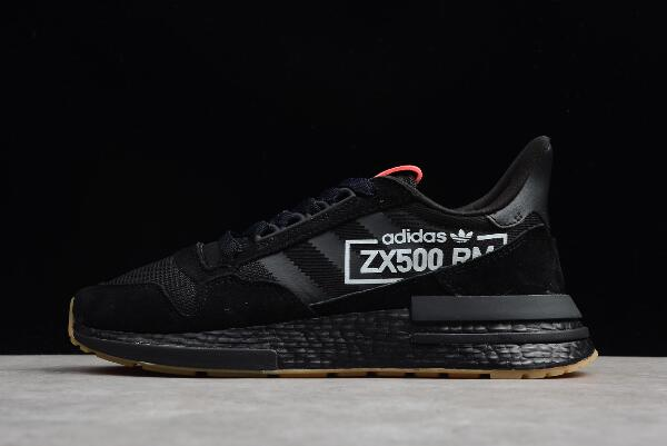 adidas ZX500 RM Boost Triple Black Running Shoes