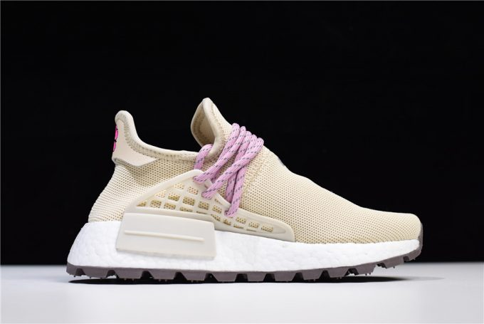 2018 Pharrell Williams x adidas Human Race NMD Hu NERD Cream White Pink 1 680x455