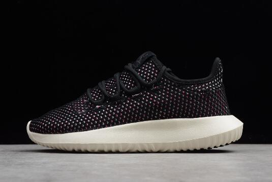 New adidas Originals Tubular Shadow CK Black White Pink
