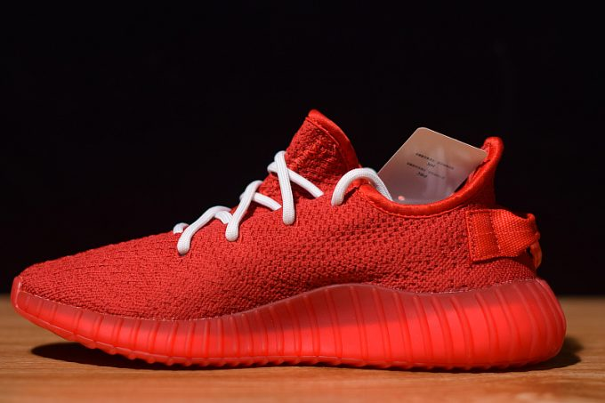 Supreme x adidas Yeezy Boost 350 V2 Red White 1 680x453