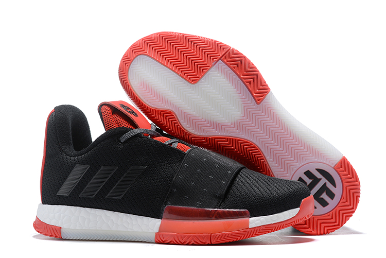 adidas Harden Vol. 3 Black/Red For Sale
