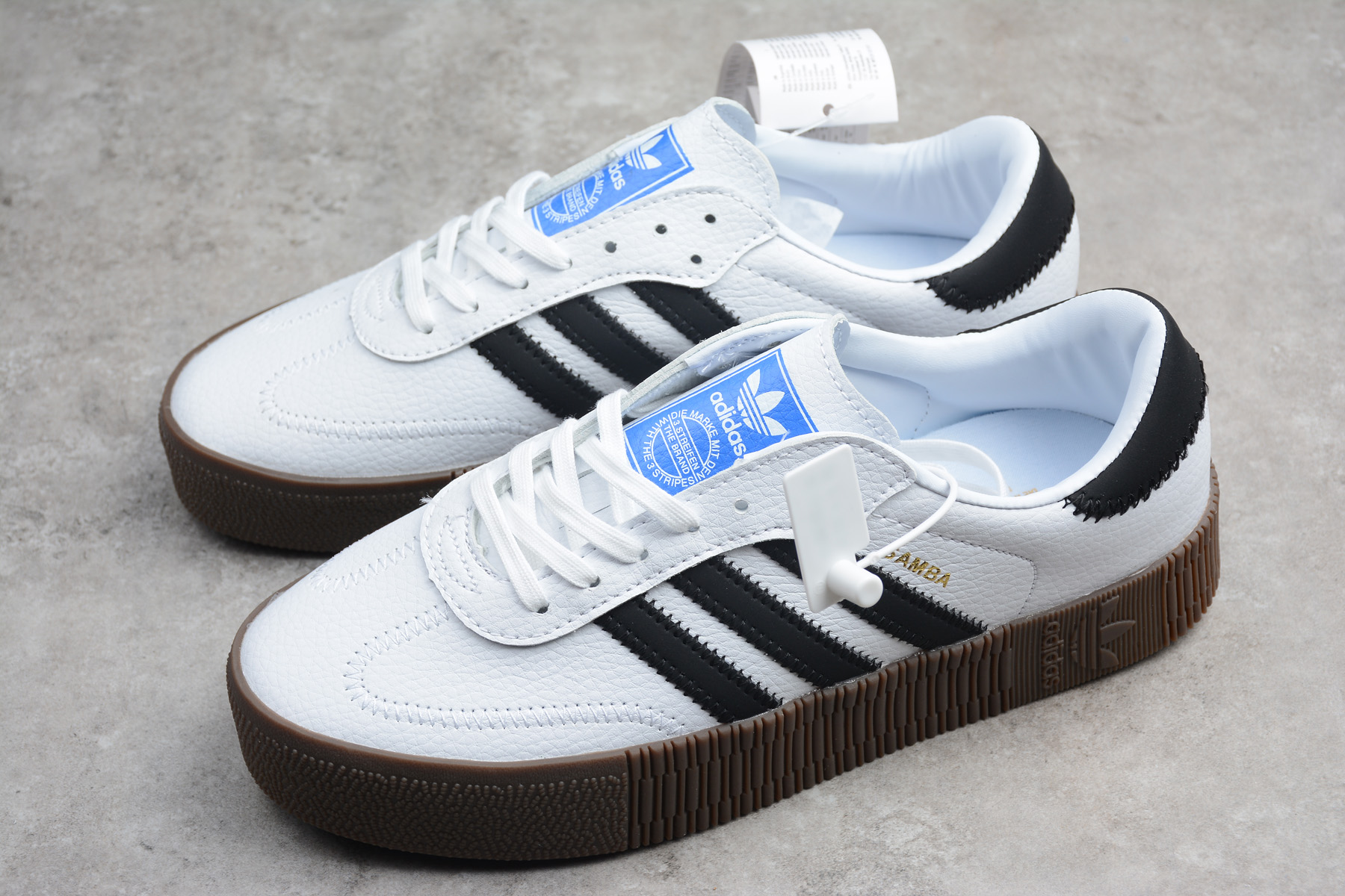 adidas Originals Sambarose White/Black/Gum AQ1134