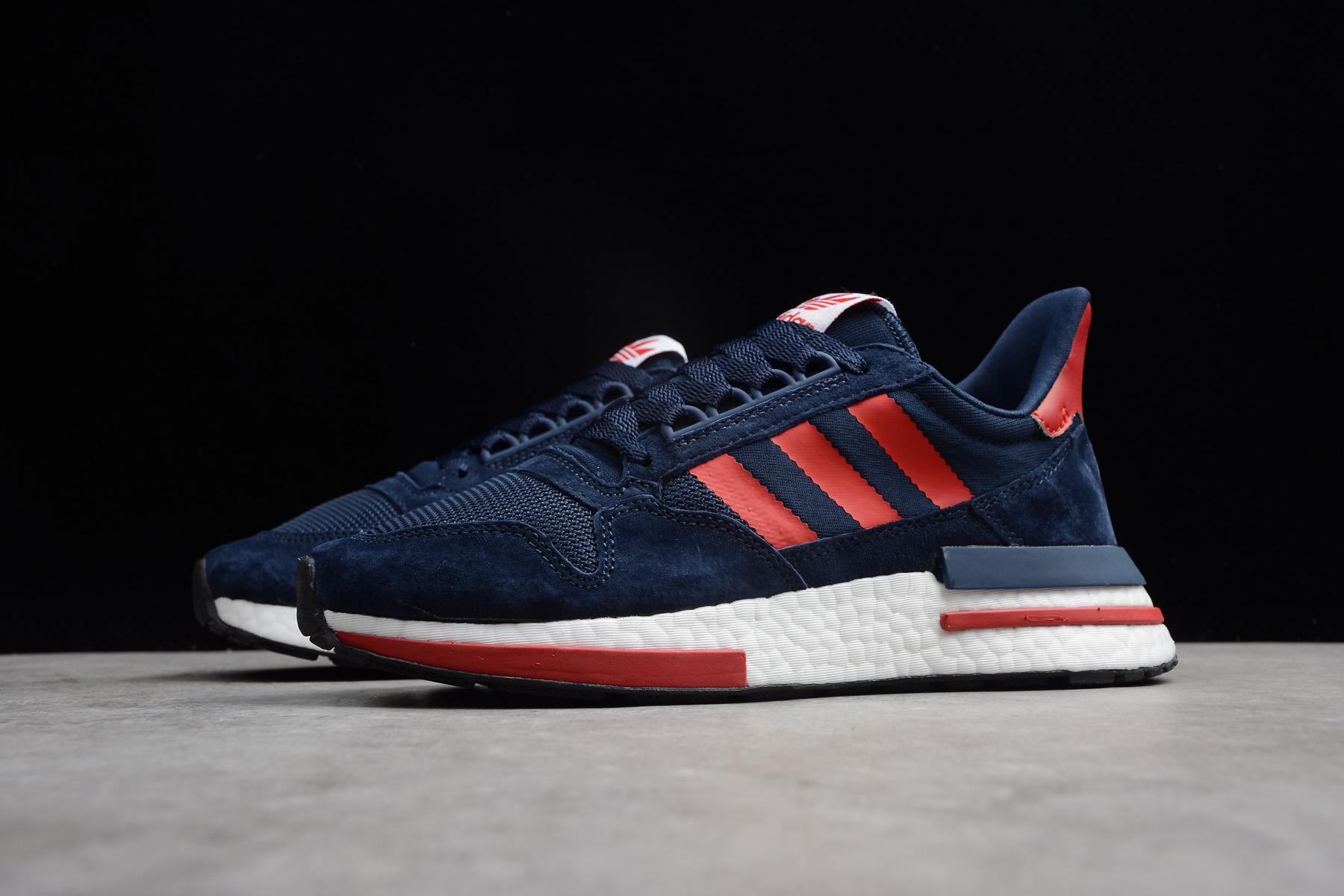 New flat nmd laces for black friday sale 2018 flyer Navy Blue/Red-White BB7446