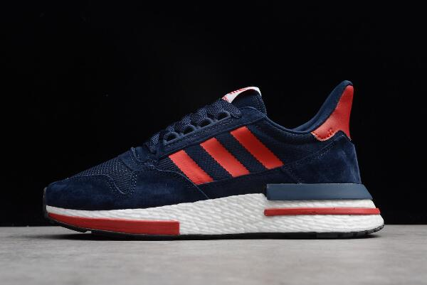 adidas ZX500 RM Boost Navy Blue Red White